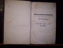 "Brockhaus Conversations - Lexikon 1843 (Neunte Originalauflage) Erster Band ""A Bis Balbuena"". Real-Encyklopadie - Brockhaus"