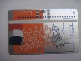 Netherlands. KNVB.Football Federation Of The Netherlands. Magnetic Card. PTT Telecom - Netherlands