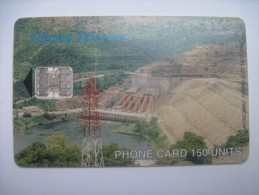 Ghana. Acosombo Hydro Electric Dam. 150 Units. Ghana Telecom. 2001. - Grenada