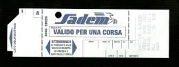 Biglietto Autobus Italia - Sadem Torino - Corsa Unica da euro 5.50