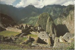 CPM PERU - vista parcial de la ruinas Machu Picchu - site du P�rou - ville sacr�e des Incas - vue partielle des ruines