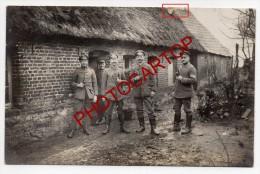 CUVILLERS-Carte Photo Allemande-Guerre14-18-1WK -France-59- - Cambrai