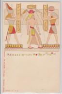 RAMSES III - THE COLLECTOR - ILLUSTRATEUR DE GIORGIO - EGYPTE - EGYPT - PHARAON - PIONNIERE - EARLY RPPC - TTB - Non Classés