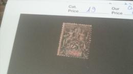 LOT 233762 TIMBRE DE COLONIE CONGO OBLITERE N�19 VALEUR 23 EUROS
