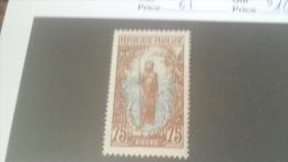 LOT 233764 TIMBRE DE COLONIE CONGO NEUF* N�61 VALEUR 10 EUROS