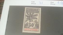 LOT 233802 TIMBRE DE COLONIE COTE IVOIRE NEUF* N�31 VALEUR 18 EUROS