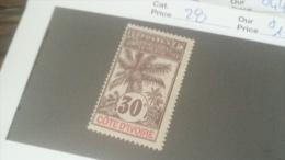 LOT 233804 TIMBRE DE COLONIE COTE IVOIRE NEUF* N�28 VALEUR 15 EUROS