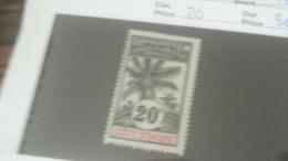 LOT 233806 TIMBRE DE COLONIE COTE IVOIRE NEUF* N�26 VALEUR 11,6 EUROS