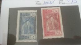 LOT 233811 TIMBRE DE COLONIE COTE IVOIRE NEUF* N�104/105 VALEUR 13 EUROS