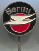 BERINI - Netherlands. Motorbikes, Motorcycle, Scooter, Pin, Vintage Badge - Motos