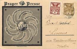 Ref C702- Prager Presse - Prague - Tchequie   -carte Bon Etat - - Tchéquie