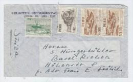 Peru/Switzerland AIRAMIL COVER - Peru