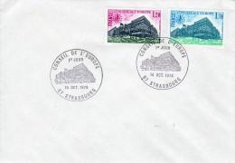 Enveloppe - Cachet PJ  Conseil De L\´Europe à Strasbourg Le 14.10.1978 - Lettres & Documents