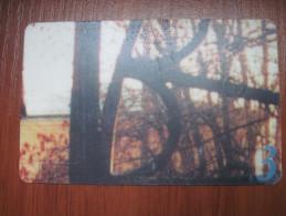 Russia.  Kaluga Region. Native Region. Collecting Card. ELEKS  40 Units - Advertising