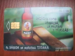 Mexico. TELMEX/ Ladatel. Indio Beer. El sabor de nuestra tierra.