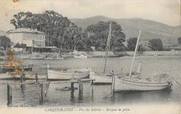 Carqueiranne - Vue Des Salettes - Barques De Pêche - Edition Richaud - Carqueiranne