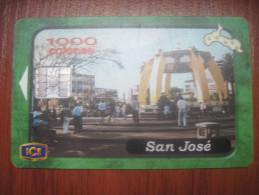 Costa Rica . ICETEL. San Jose View. 1000 Colones. - Costa Rica