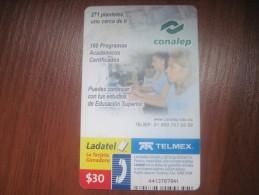 Mexico. TELMEX/ Ladatel. Conalep education program.