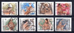 Greece - 1986 - Gods Of Olympus (Part Set, Perf 13 X Imperf) - Used - Griechenland