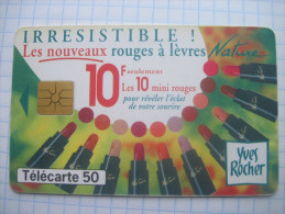 France. France Telecom. Advertising . Yves Rocher Cosmetics. 1995. - Advertising