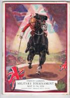 Livre   Military Tournament  1934    (27 Cm X20 Cm ) - Libri, Riviste, Fumetti