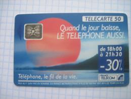 France. France Telecom. Advertising . Telephone.  06/1992. - Advertising