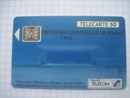 France. France Telecom. Advertising . Sevilla EXPO-1992.  06/1992 - Advertising