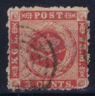 Danish West Indies: 1855 Nr 3 Used - Dänemark (Antillen)