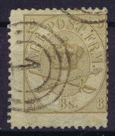Danmark: 1864  Yv Nr 14 Mi Nr 14  Used   Cancel 33 - 1864-04 (Christian IX)