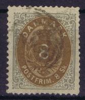 Danmark: 1870  Yv Nr 19 Mi Nr 19  Used - 1864-04 (Christian IX)