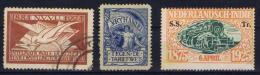 Dutch East Indies: 3 Labels NVVP/ Vrijhandel / SS TR