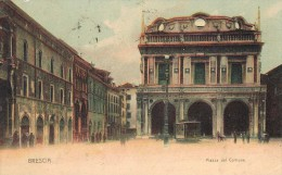 BRESCIA = PIAZZA DEL COMUNE = 1910-- - Brescia