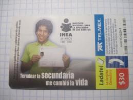 Mexico. TELMEX/ Ladatel. Instituto nacional para la educacion de los adultos.