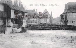 (64) Salies De Béarn - Le Saley, L'hiver - Crue Inondations - Excellent état - 2 SCANS - Salies De Bearn