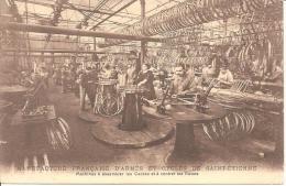 MANUFACTURE FRANCAISE D'ARMES ET CYCLES SAINT ETIENNE ,MACHINES A ASSEMBLER LES CADRES ET CENTRER LES ROUES REF 40898 - Industrie