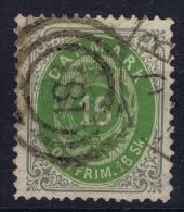 Denmark: 1870 Yv Nr 20 Used - 1864-04 (Christian IX)