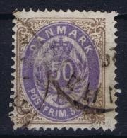 Denmark: 1870 Yv Nr 28A, Mi Nr 30a  Used   Bistre Et Violet - 1864-04 (Christian IX)