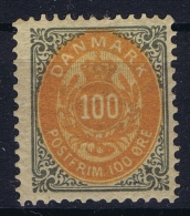 Denmark: 1875 Yv Nr 29B, Mi Nr 31 II   MH/* Kopfstehende Rahmen - Ungebraucht