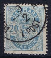 Denmark: 1882 Yv Nr 34, Mi Nr 33  Used - 1864-04 (Christian IX)