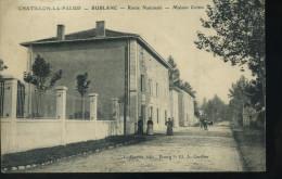 CHATILLON LA PALUD 1908 - Maison Cottin Rte Nationale - Autres Communes