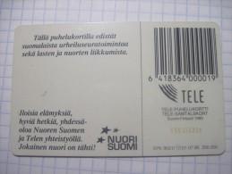 Finland.Tele Puhelukortti.  NUORI SUOMI. 07/95. 30 Units. - Finland