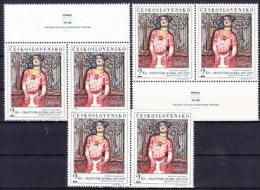 ** Tchécoslovaquie 1968 Mi 1796 (Yv 1645) Le Paire+vignette En Haut Et En Bas, (MNH) - Tschechoslowakei/CSSR
