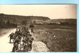 WW2 PHOTO ORIGINALE Soldat Allemand Route Entre VILLEY SAINT ETIENNE & FONTENOY Près Toul MEURTHE ET MOSELLE 54 LORRAINE - 1939-45