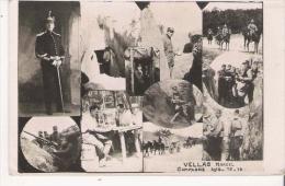 GUERRE 1914 15 16 CARTE PHOTO D'UN SOLDAT AVEC PLUSIEURS SCENES (TRANCHEE ET AUTRES) - Weltkrieg 1914-18