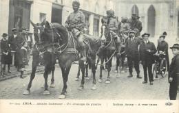 CPA GUERRE 1914 ARMEE INDIENNE UN ATTELAGE DE GUERRE MILITARIA SCANS RECTO VERSO - Oorlog 1914-18