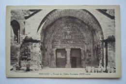 38 - BEAULIEU - Portail De L'église Paroissiale - Sonstige Gemeinden