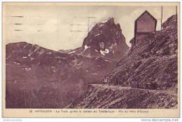 ARTOUSTE - 64 - Le Train Quitte La Station Du Téléférique - France
