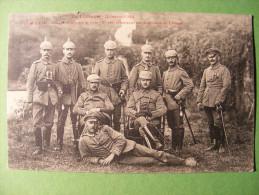 CPA Militaria Lunéville (54) - Guerre 1914 - Officiers Et Sous Officiers Allemands ... German, Deusch Officers ... - Personnages
