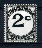 BRITISH  GUIANA     1940     Postage  Due   2c  Black      MH - Guyana Britannica (...-1966)