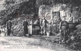 (64) Salies De Béarn - Fontaine Larroumotte - La Hérarade Servant Au Transport De L'eau - Excellent état - 2 SCANS - Salies De Bearn